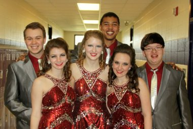 My senior year show choir portrait!